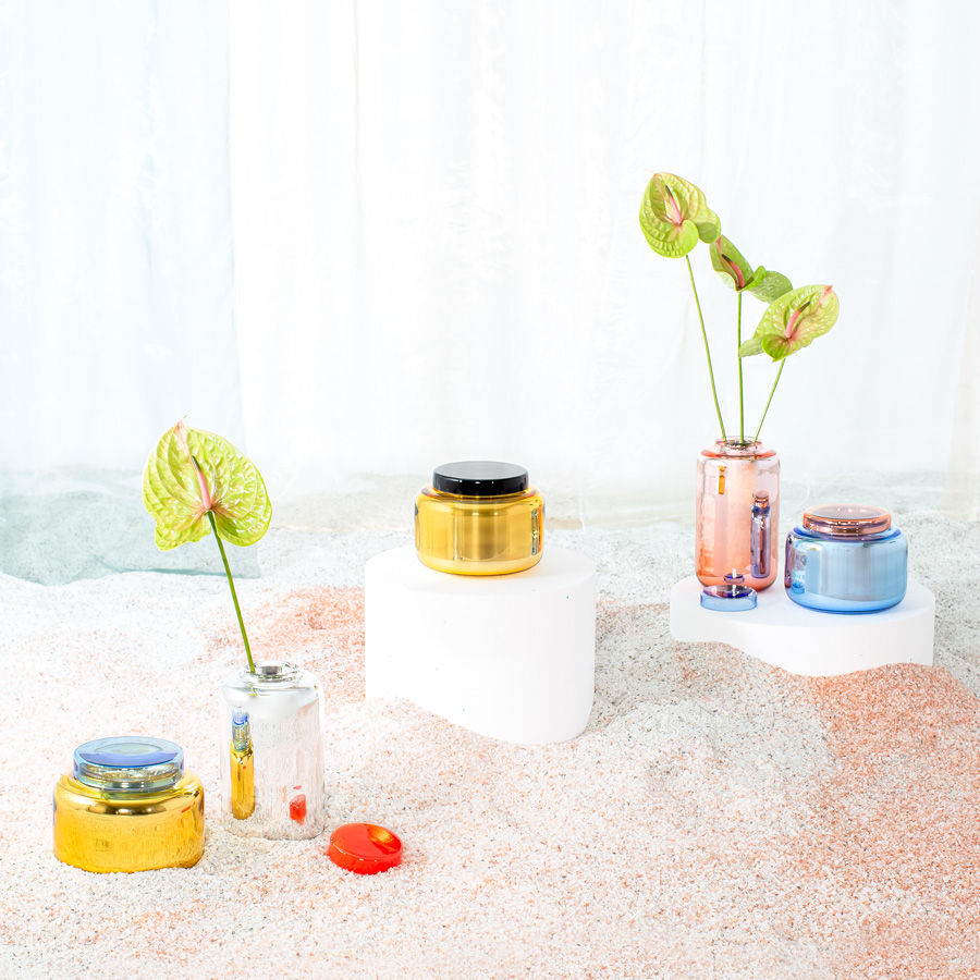 container vases