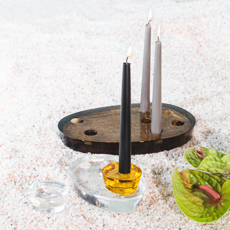 atoll candle holders