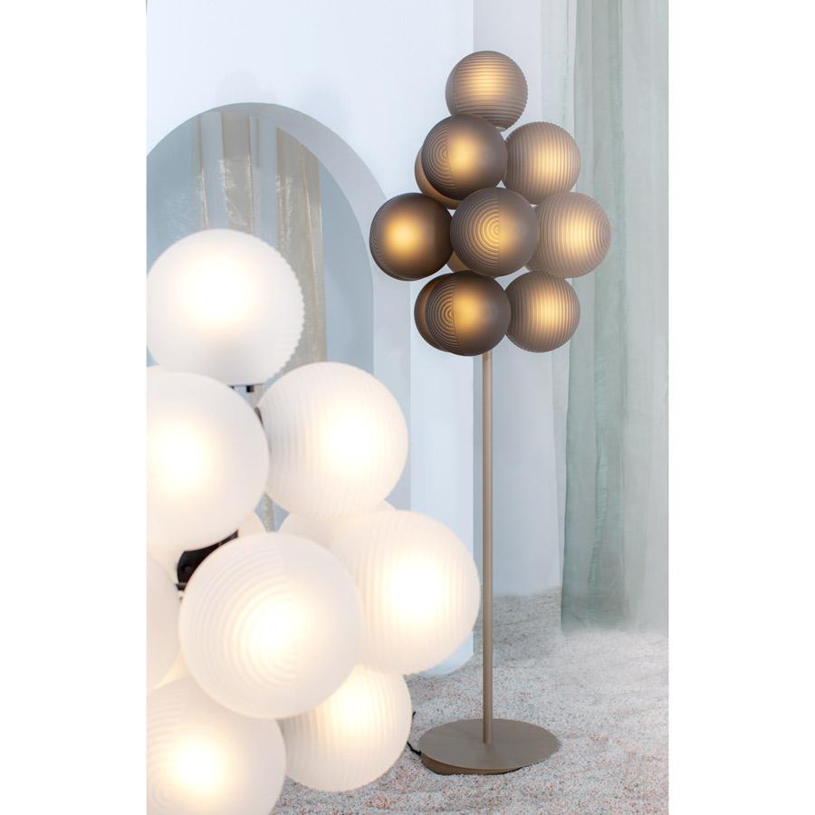 designer grape lamp