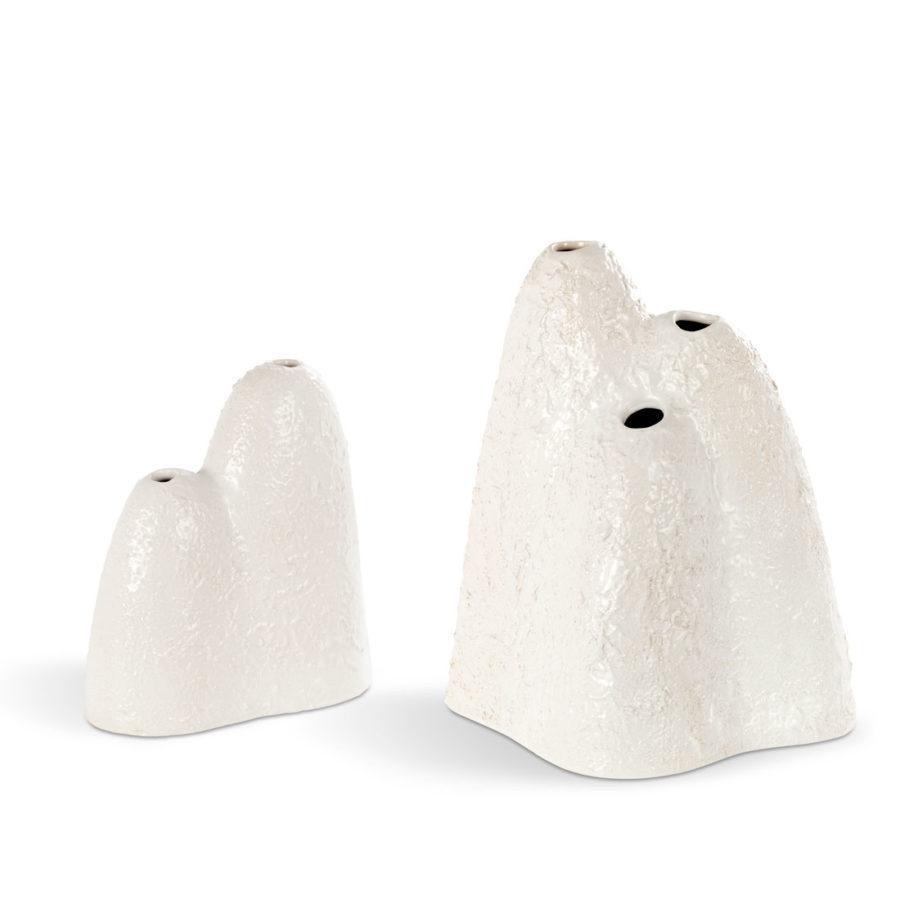 "designer keramik blumenvase ""mountain"""