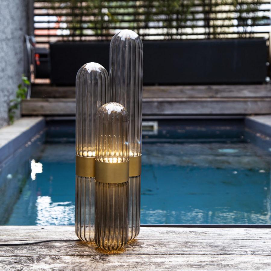 designer cactus lamp