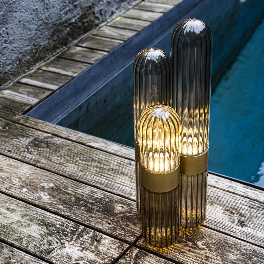 Designer kaktus lampe