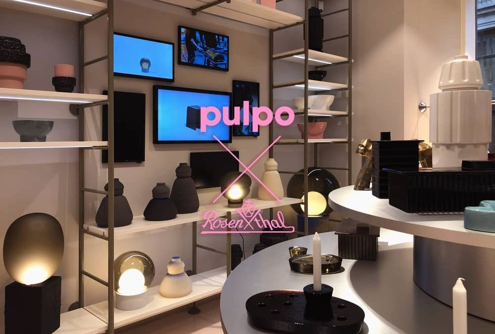 pulpo pop-up store at Rosenthal in Munich