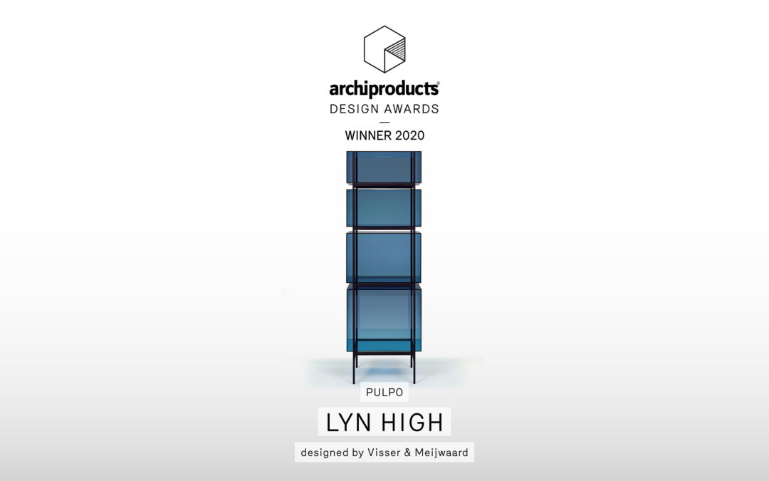Archiproducts Design Award 2020: lyn high ist der Gewinner