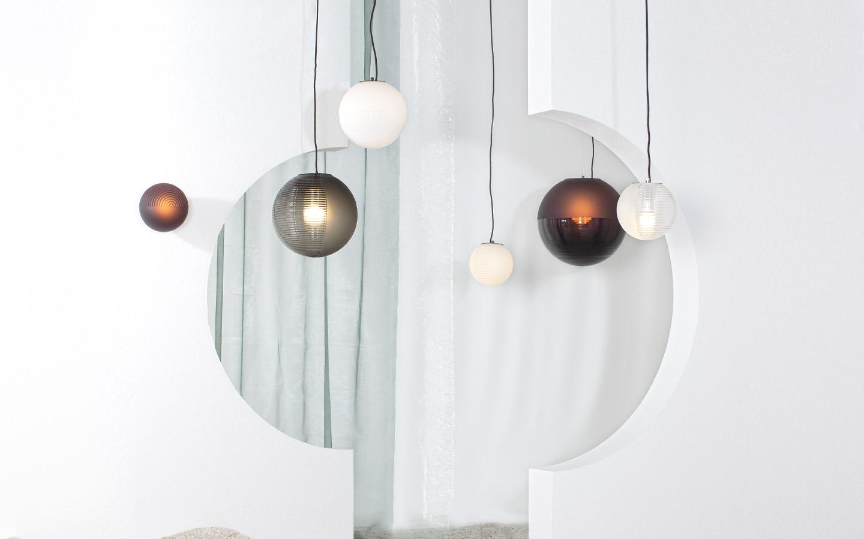 stellar pendant lights Sebastian Herkner